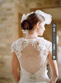 So awesome - still obsessing over the back of this gown by  photo by | CHECK OUT MORE GREAT FAIRYTALE WEDDING PICS AND IDEAS AT WEDDINGPINS.NET | #weddings #wedding #fairytale #fairytales #rehearsaldinner #bachelorparty #events #forweddings #fairytalewedding #fairytaleweddings #romance