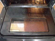 Norwex Oven and Grill Cleaner.  None toxic cleaner! :)