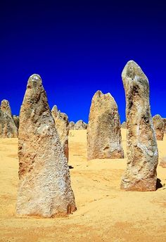 The Pinnacles, Nambung National Park,, Western Australia - Outback Australia Kalbarri National Park, Nambung National Park, Western Australia, Australia Travel, Australia Occidental, Outback Australia, Travel Around The World, Around The Worlds, Pinnacles Desert
