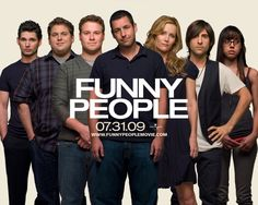 Watch Streaming HD Funny People, starring Adam Sandler, Seth Rogen, Leslie Mann, Eric Bana. When seasoned comedian George Simmons learns of his terminal, inoperable health condition, his desire to form a genuine friendship cause him to take a relatively green performer under his wing as his opening act. #Comedy #Drama http://play.theatrr.com/play.php?movie=1201167