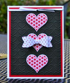 Krystal's Cards and More: Groovy Love January Online Class Card #2