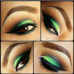 Great Spring color! The Grasshopper eye look!
