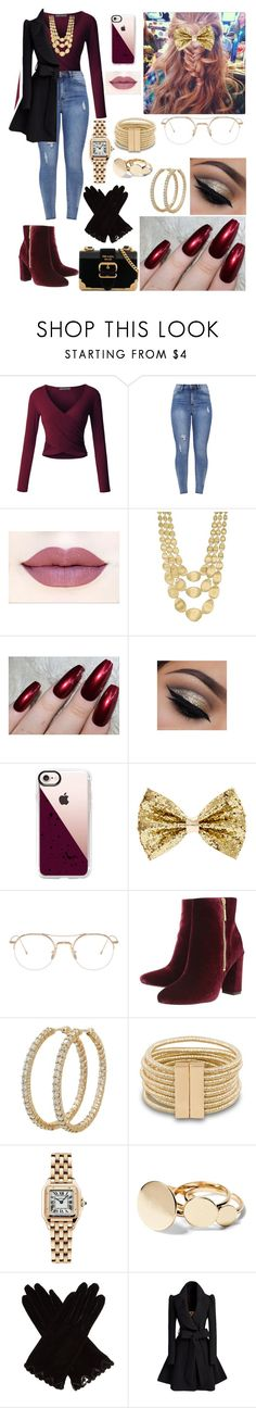 """Untitled #496"" by parismarion ❤ liked on Polyvore featuring LE3NO, Marco Bicego, Casetify, Thom Browne, Ravel, Roberto Coin, Cartier, AGNELLE and Prada"