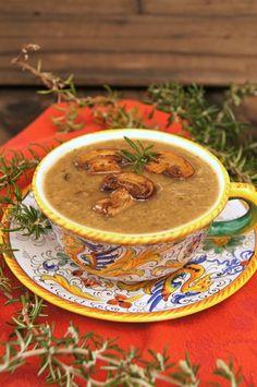 Rosemary Mushroom Soup Recipe