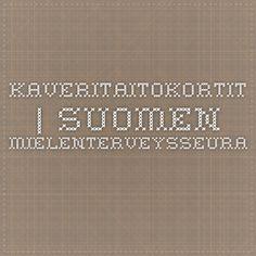 Kaveritaitokortit | Suomen Mielenterveysseura
