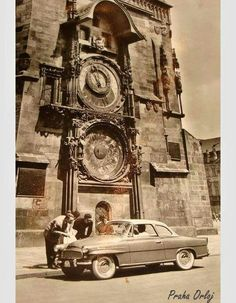 Old Pictures, Old Photos, Vintage Photos, Czech Republic, Most Beautiful Pictures, Roots, Old Things, Tower, Spaces