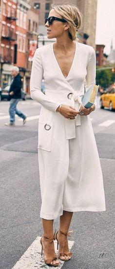 Look с белым платьем! 3