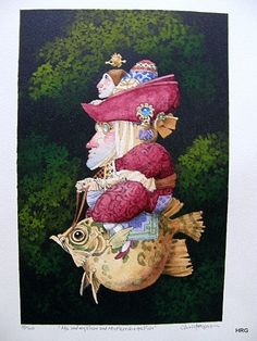 James Christensen - Me and My Fish and My Friend and His Fish | Flickr - Photo Sharing!