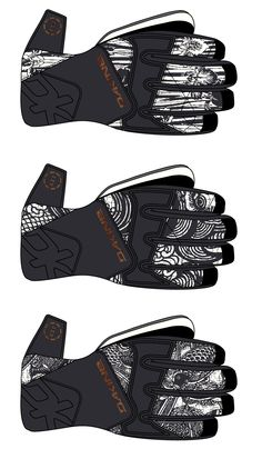 Glove print Ideations.  Dakine 2004.