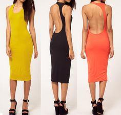 Preorder womens sexy club wear open back Long Dress Sleeveless Material: Polyester + spandex Pattern: Solids. Price $52.00 To place an order go to website www.jeanfrancoisboutique.com