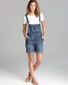 J Brand Overalls - Short Coverall 5065 in Rivington | Bloomingdale's