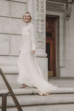 fed4c74af1 L ETO BRIDAL. Turtleneck Wedding DressLong Sleeve ...