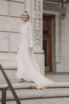 ecfaab7e6d9 L ETO BRIDAL. Turtleneck Wedding DressLong Sleeve ...