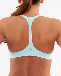 Lululemon Athletica Arise Bra in Heathered Aquamarine | $42.00