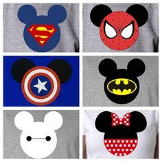 Disney Family Shirts/Disney Vacation Shirts/6- Pack of Shirts-Personalized Disney Matching Vacation Shirts/Captain America, Goofy and Donald by LetsHearItForSpirit on Etsy https://www.etsy.com/listing/520111983/disney-family-shirtsdisney-vacation