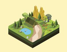 "Check out new work on my @Behance portfolio: ""Landscape Lowpoly"" http://be.net/gallery/45784521/Landscape-Lowpoly"