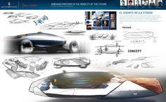 ISD Rubika Pininfarina El Gigante Concept - Design Panel