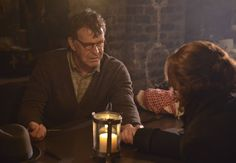 """3/ SLEEPY HOLLOW: John Noble (L) guest-stars in """"The Sin Eater"""" episode of SLEEPY HOLLOW airing Monday, Nov. 4 (9:00-10:00 PM ET/PT) on FOX. ©2013 Fox Broadcasting Co. CR: Brownie Harris/FOX"""