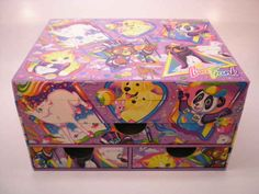 Stationery box, $60 | The 16 Most Expensive Pieces Of Vintage Lisa Frank Merchandise Out There