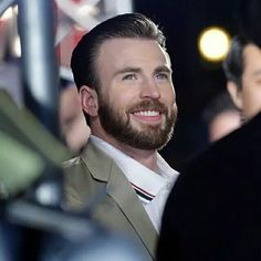 Chris Evans wonderful Smile if you like it look at my pinboard and follow me  Trin :)