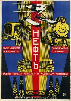 Aleksandr Naumov, Oil, 1927, Courtesy GRAD Gallery for Russian Arts and Design and AntikBar. Kino/Film: Soviet Posters of the Silent Screen,...