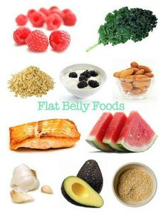 Eating right is a key step to being healthy! What is your favorite flat belly food?
