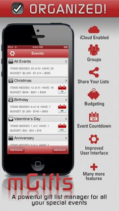 A Gift List Manager App to help keep your gift giving organized - The Jeffrey Phillip Blog
