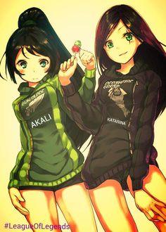 Kata & Akali