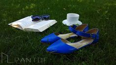 #PANTOF #flatshoes #handmade #leather #blue #coffe #goodmorning  https://m.facebook.com/pantof.net/