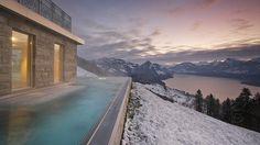 Spa break above the clouds - Hotel Villa Honegg