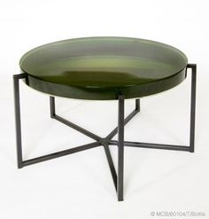Tinted Lens coffee table by McCollin Bryan