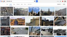 Rooftops in Edinburgh