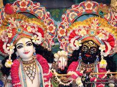 Sri Sri Krishna Balaram Close up Wallpaper