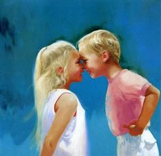 Nose To Nose -  by Donald Zolan
