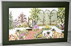 Find & Bid On #88 3-D Garden print - Now For Sale At Auction
