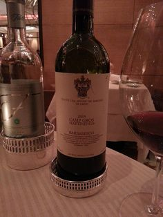 100 Point Perfection!! Nothing to change here, just ultimate Barbaresco bliss.... 2005 Marchesi de Gresi Camp Gros Barbaresco, via Flickr.
