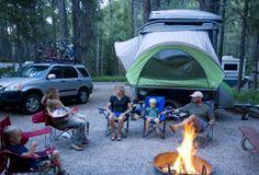 Tent Trailer | The SylvanSport GO a Gear Hauling Tent Trailer