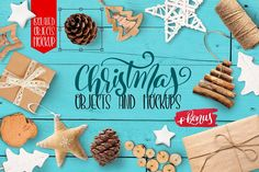 Christmas isolated objects and mock ups on Creative Market. Digital design goods for personal or commercial projects. Graphic design elements and resources.