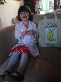 #worldbookday princess pearl from Zog and the flying doctors