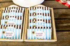 Socorro! Sou mãe...: Os 3 anos do (cow)boy: Party Printables Cowboy by Kids&Babies Design (papel de embrulho para pastas de chocolate) - Foto: Crush