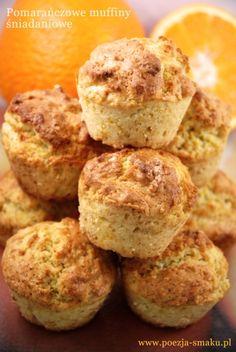 Pomarańczowe muffiny śniadaniowe (Orange Breakfast Muffins - recipe in Polish)