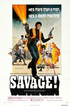 Men call him SAVAGE! Women call him all the time! Stupid taglines are hilarious!