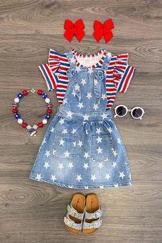HANANei 3PCS Kids Outfits Infant Baby Girls Kids Ruffle Tops T Shirt+Floral Skirts+Headband Outfits Set