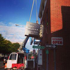 Signage Pre Opening, Signage, Fair Grounds, Restaurant, Graphic Design, Fun, Diner Restaurant, Billboard, Restaurants