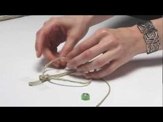 Square knot #bracelets are usually made with hemp and beads, but experiment to make a unique design! #tutorial #diy #jewelry