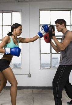 35 best boxing images  women boxing kickboxing female