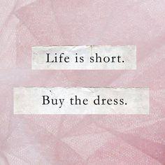Don't hesitate! Buy the dress you love. Jesus Peiro Wedding Dresses