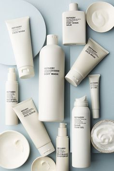 Cosmetic packaging design - The Refinery Face Wash by in Grey Size All, Mens at Anthropologie – Cosmetic packaging design Skincare Packaging, Beauty Packaging, Cosmetic Packaging, Brand Packaging, Simple Packaging, Bottle Packaging, Soap Packaging, Avon Products, Face Wash