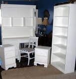 Coordinating girls bedroom furniture.....