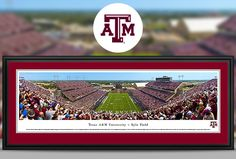 Texas A&M University Aggies Panoramic Pictures & Posters